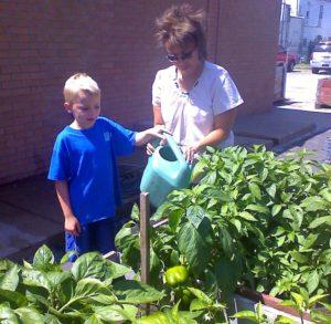 Garden project fosters seeds of hope, veggies