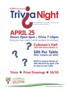 Rock Island Office Hosting Trivia Night