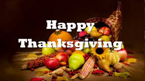 Happy Thanksgiving from The Center for Youth and Family Solutions