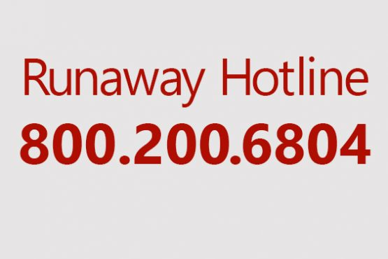 Services for Runaway Youth 800-200-6804