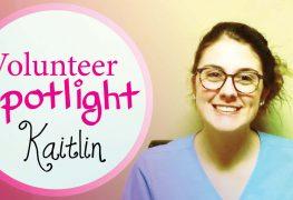 Volunteer Spotlight: Kaitlin K.