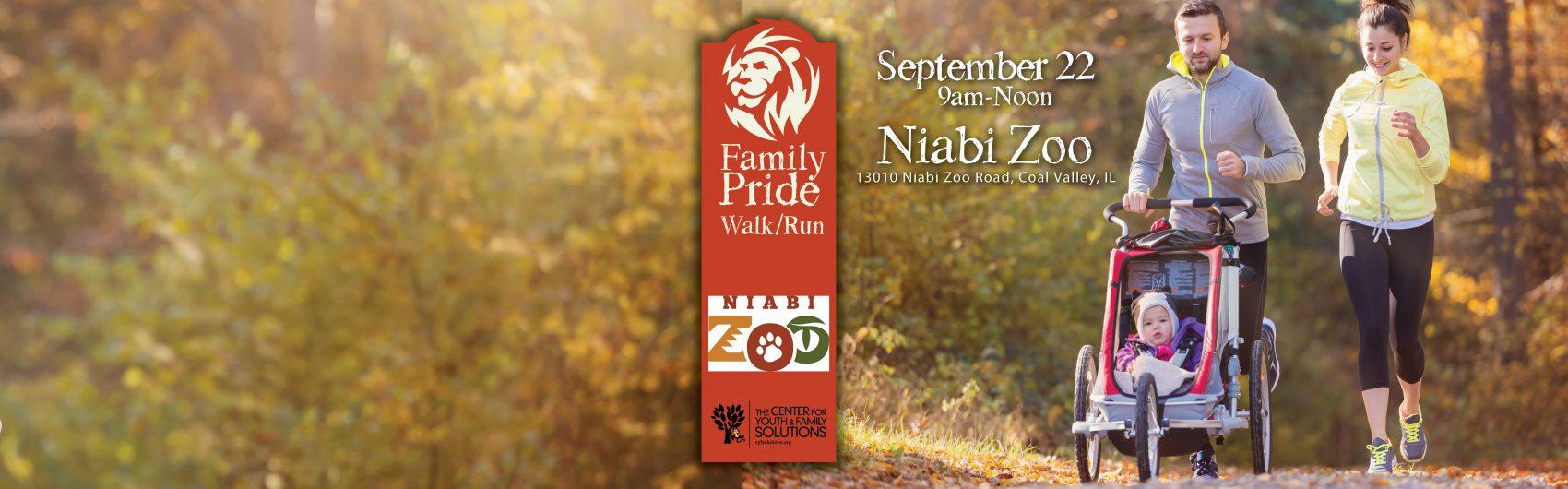 Join the Family Pride 2.5K Walk/Run!