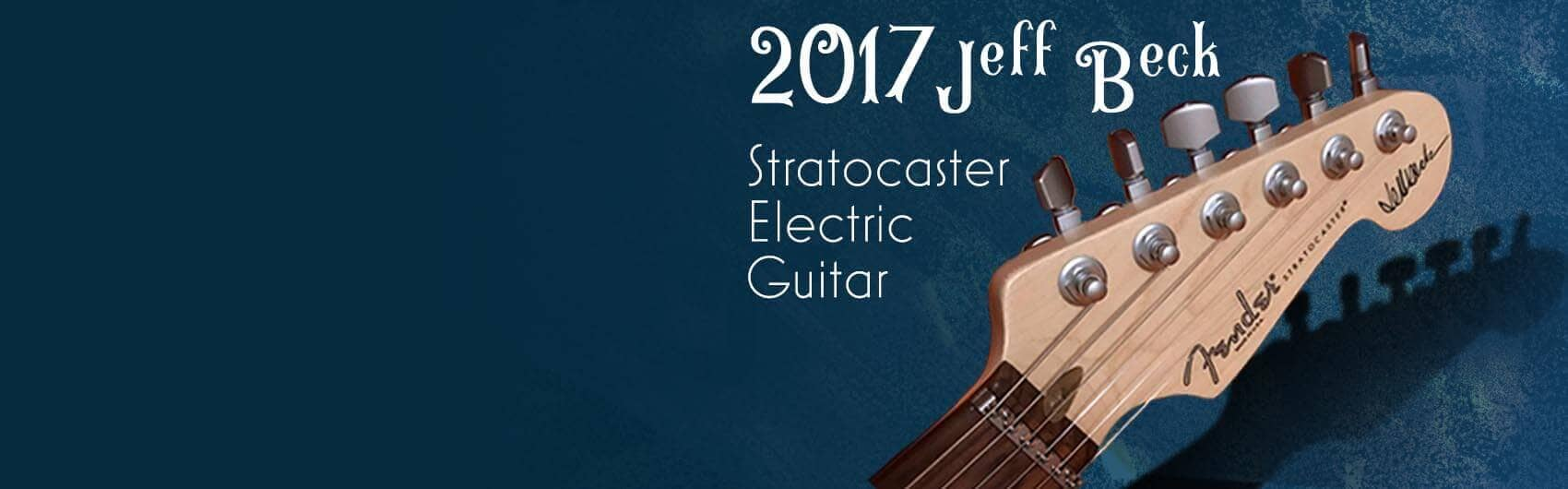 2017 Jeff Beck Stratocaster Electric Guitar Raffle