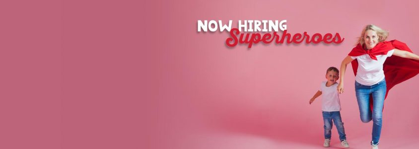 Join our Team: Be a CYFS Super Hero!