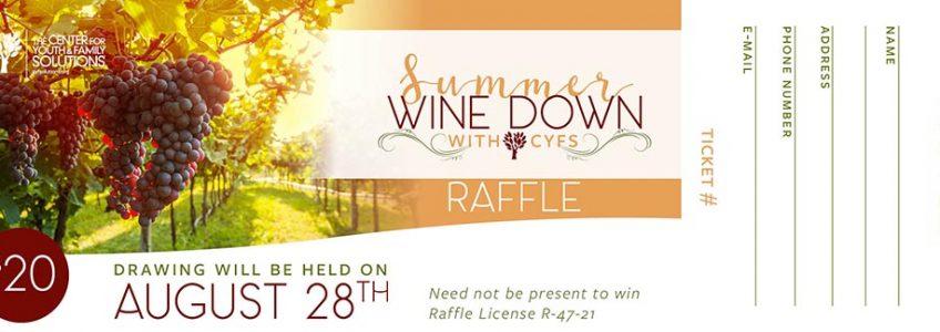CYFS Announces the Summer Wine Down Raffle Winners